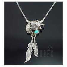 sterling silver wolf pendant w chain