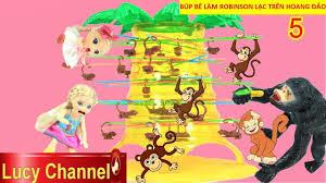 Lucy Channel | BÚP BÊ LÀM ROBINSON LẠC TRÊN HOANG ĐẢO TẬP 5 ...
