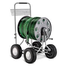 hose reel cart hammacher schlemmer
