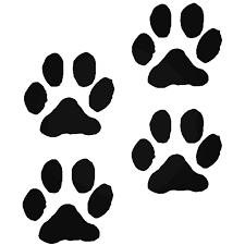Paw Printsanimal Cute Pet Dog Puppyize Vinyl Decal Sticker