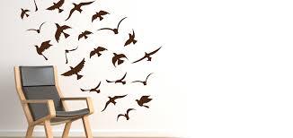Birds Flock Vinyl Decal Seagulls Wall Decals