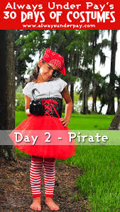 diy girls pirate costume