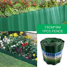 Garden Decorative Fence Ultra Thin Design Plastic Landscape Edging Courtyard Flower Fencing Border For Garden Fencing Trellis Gates Aliexpress