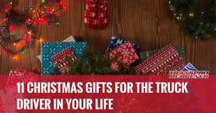 11 gifts for truck drivers