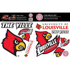 St Louis Cardinals Car Decal Kit Walmart Com Walmart Com