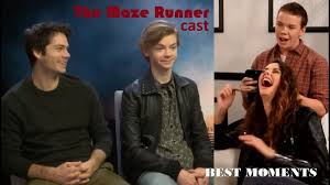 Maze Runner cast Funny & Cute Moments - YouTube