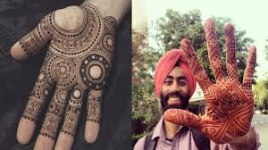 mehndi designs groom