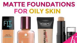 6 best matte foundations for oily skin