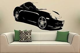 Wall Mural Vinyl Sticker Car Porsche Cayman S 1485 You Can Get More Details By Clicking On The Image Wall Stickers Murals Buy Vinyl Car Stickers