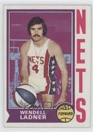 1974-75 Topps - [Base] #244 - Wendell Ladner