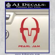 Pearl Jam Decal Sticker D3 A1 Decals