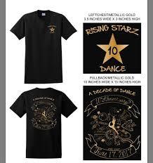 10th Year Anniversary Theme T Shirts 14 Rising Starz Dance Company Facebook