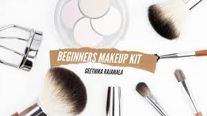 beginners makeup kit essentials