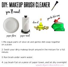 diy makeup brush cleaner pictures