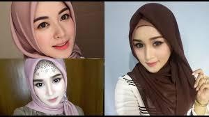 ala korea dan hijab segi empat pesta