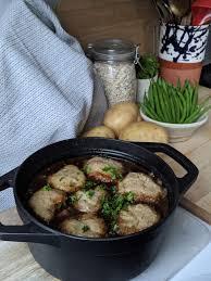 gluten free beef stew with dumplings