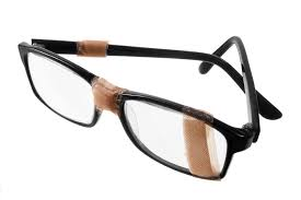 how do i fix my glasses if they fall apart