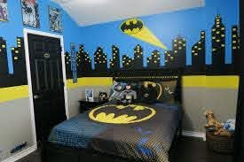 20 Kids Room Design Ideas With Brilliant Layout Design Kidbedroomdesign Kidroomdesignideas Kids Boys Bedroom Themes Boys Room Design Batman Themed Bedroom