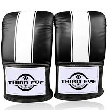 artificial leather punching bag gloves