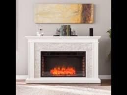 fe9055 ledgestone electric fireplace w