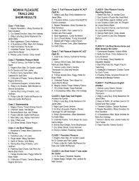 2002 MOWHA Pleasure Trials - Mid Ohio Walking Horse Association