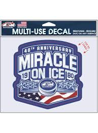 Usa Hockey Miracle On Ice 4 5 X 5 75 Inch Decal Usa Hockey Shop