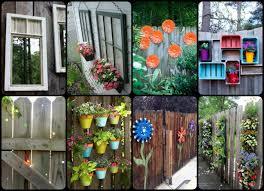 30 cool garden fence decoration ideas