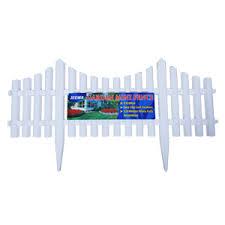 Plastic Mini Fence White Jeewa Plastic