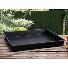 giant square garden tray square tray