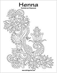 Amazon Com Henna Kleurboek Voor Volwassenen 1 Volume 1 Dutch