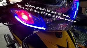 Sirius độ đèn Led Audi tích hợp đèn Luxenon siêu sáng - YouTube