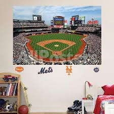 New York Mets Citi Field Stadium Mural Wall Decal Allposters Com