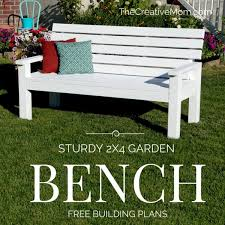 diy sy garden bench free building