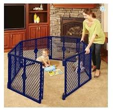 Childrens Play Yard Fence Baby Gate Play Yard Children Extendable Portable Playpen 6 8 Panel Safety Fence Baby Playpen Fe Outdoor Baby Baby Play Yard Play Yard