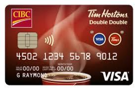 cibc tim hortons double double visa card