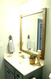 beautiful bathroom mirrors white wood