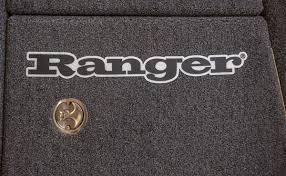 Rangerwear Com Ranger Boats Ranger Carpet Decal Black Linear Logo