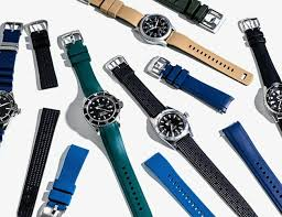 these are the best rubber watch straps