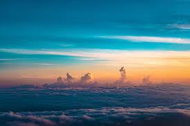 غيوم خلفية سماء أفق ارتفاع سماكة عالية الدقة عريضة عالية
