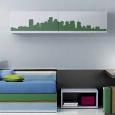 City Wall Decals Skyline Wall Decals Decalmywall Com