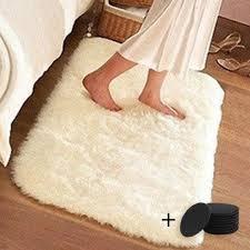 Best Offer Fec5 Living Room Carpet European Fluffy Kids Room Rug Bedroom Mat Soft Faux Fur Area Rug Rectangle Violet White 40 60cm Yl1 Cicig Co