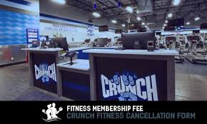 crunch fitness cancellation form