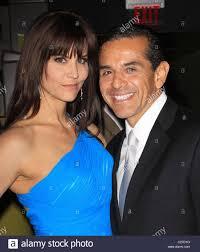 Los Angeles Mayor Antonio Villaraigosa and girlfriend Lu Parker was Stock  Photo - Alamy