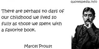 there are perhaps no days of our childhood we lived so fully as