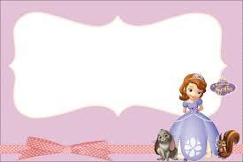 Princesa Sofia Invitaciones Para Imprimir Gratis E Imagenes