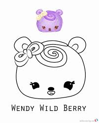 Num Coloring Pages Luxurys Series Wendy Wild Berry Free Printable Of Paper  – Stephenbenedictdyson