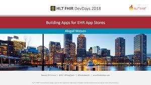 Abigail Watson - Building Apps for EHR App Stores | DevDays 2018 Boston -  YouTube