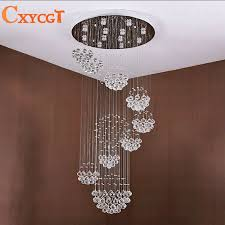 modern led luxury crystal chandeliers