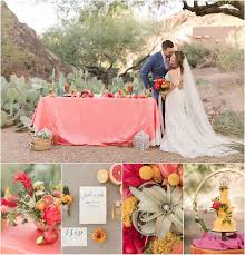 a citrus inspired wedding styled shoot