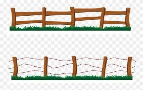 Fence Clip Art Clipart Farm Fence Free Transparent Png Clipart Images Download